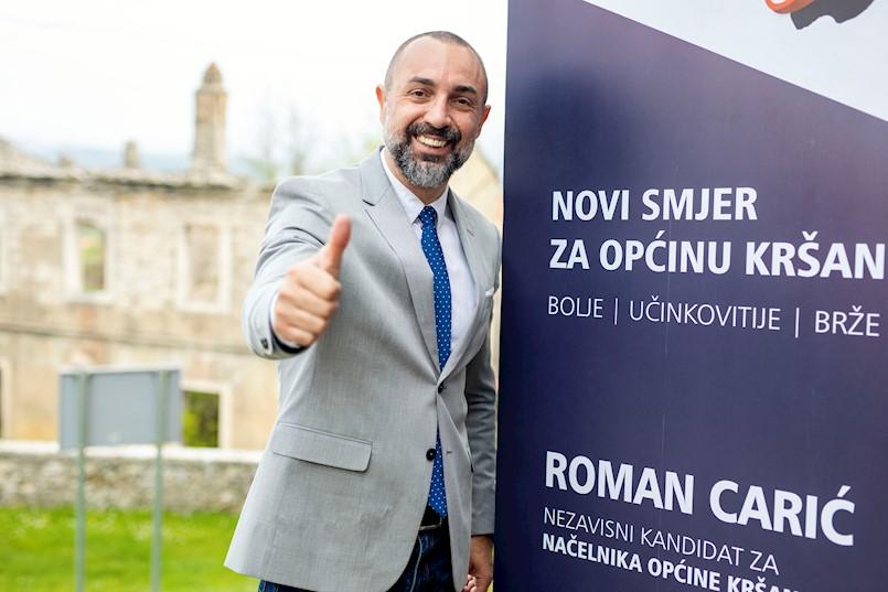 Roman Carić - Hvala svim biračima!