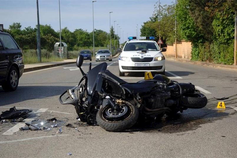 Ponovno motociklisti sudjelovali u prometnim nesrećama na tzv. Plominki