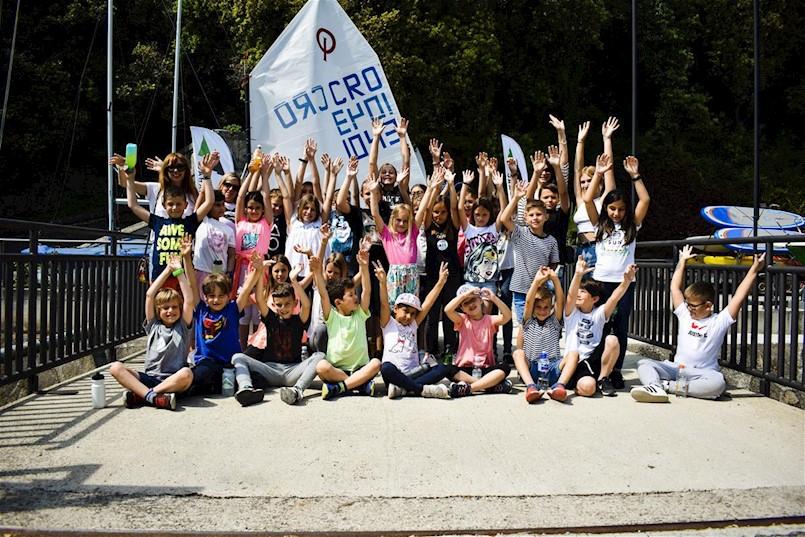 Rabačkim učenicima prezentirana škola jedrenja
