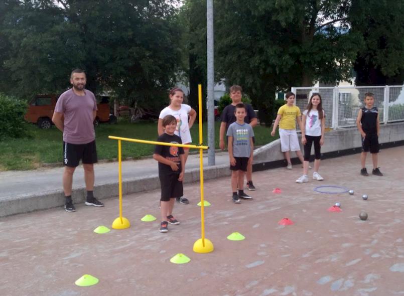 U Čepiću pokazni treninzi škole boćanja