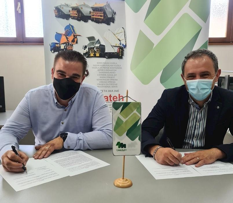 Potpisan milijunski ugovor za unaprjeđenje gospodarenja otpadom na Labinštini
