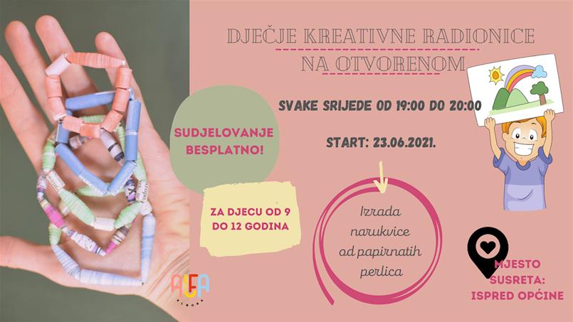 Od danas besplatne radionice za djecu od 9 do 12 godina u organizaciji Udruge Alfa Albona