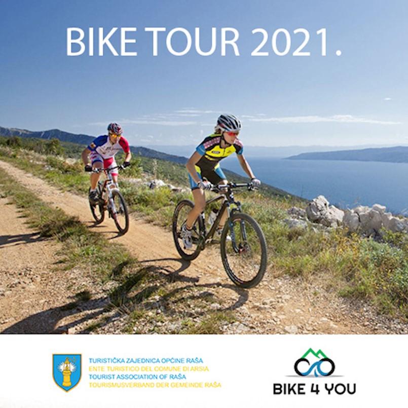 [POZIV] TZO Raša organizira biciklističke ture tijekom cijelog ljeta