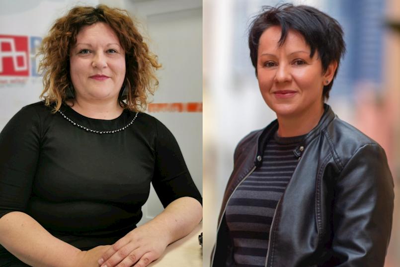Renata Kiršić i Tanja Pejić potpredsjednice Gradskog vijeća Labina