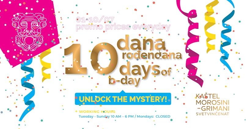 Proslava prvog rođendana Kaštela Morosini-Grimani u Svetvinčentu: Program od 10 dana povodom prvog rođendana!