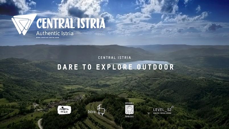 """Turistička zajednica središnje Istre predstavila promotivni film o outdoor ponudi - """"DARE TO EXPLORE OUTDOOR"""" autora labinskog LEVEL 52"""