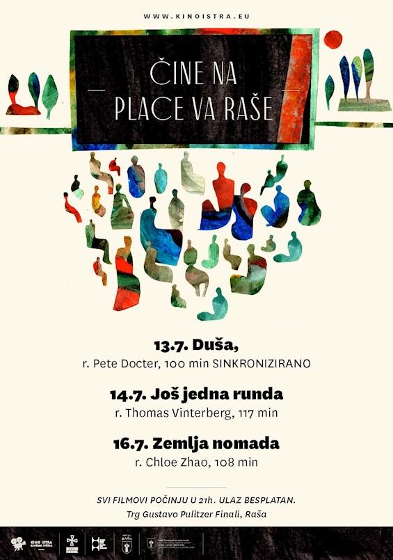 ''Čine na place va Raše'' donosi tri večeri izvrsnih filmova
