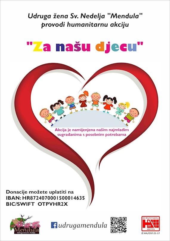 Prodajom lutrije Mendula prikupila 8.138 kuna za humanitarnu akciju ''Za našu djecu''