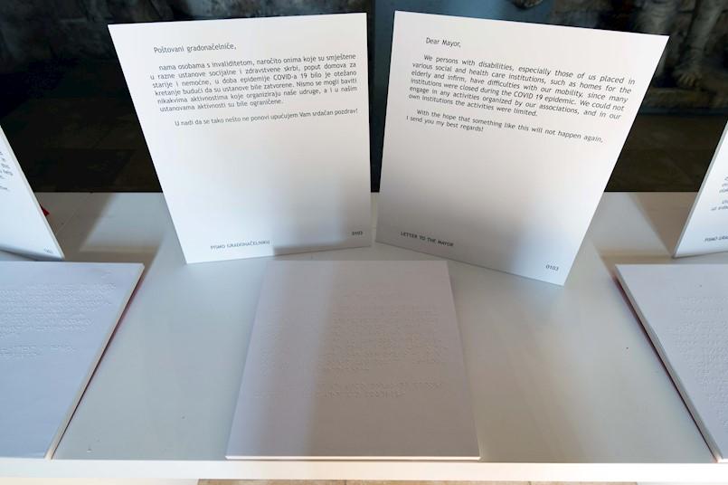 "IZLOŽBA: Helidon Gjergji ""Moje pismo gradonačelniku"""