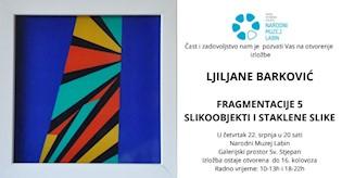 Otvara se izložba Ljiljane Barković u galerijskom prostoru crkve Sv. Stjepana