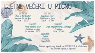 Ljetne večeri u Pićnu – filmovi i predstave na otvorenom!