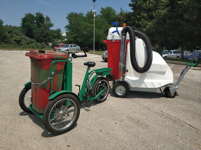 Dva električna vozila za čišćenje javnih površina na probi u 1.MAJ-u
