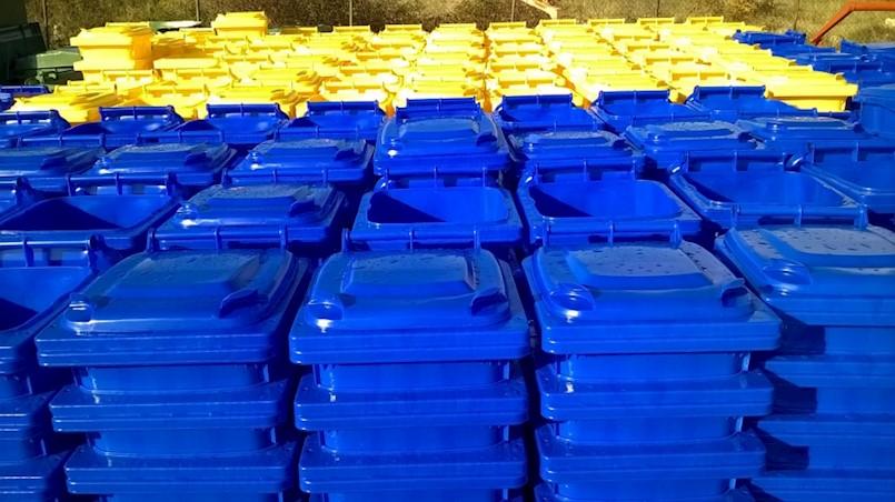 Kućanstva u Općini Raša dobivaju spremnike za odvojeno prikupljanje otpada