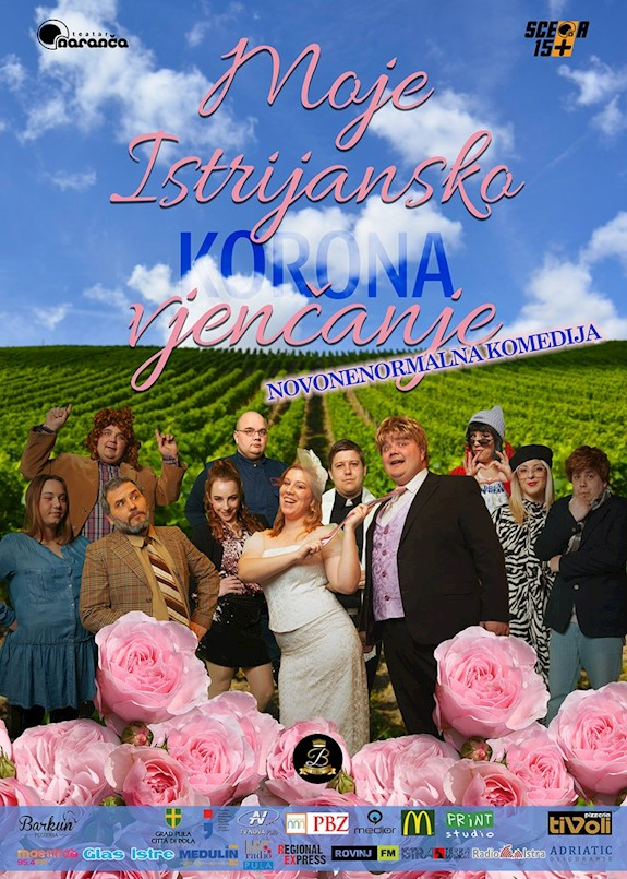 """U četvrtak na Špini komedija """"Moje Istrijansko korona vjenčanje"""""""
