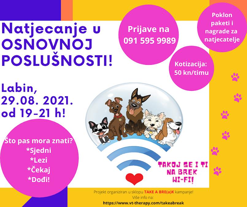 Prijavite se na natjecanje u osnovnoj poslušnosti pasa