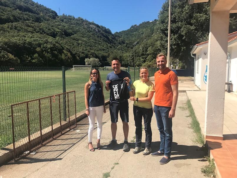 Bruno i Maja Šimleša u humanitarnoj akciji propješačili Via Adriaticom i kroz Labinštinu