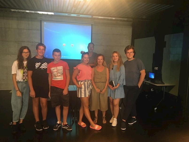 U Labinu se provodi projekt Filmska škola 2021.