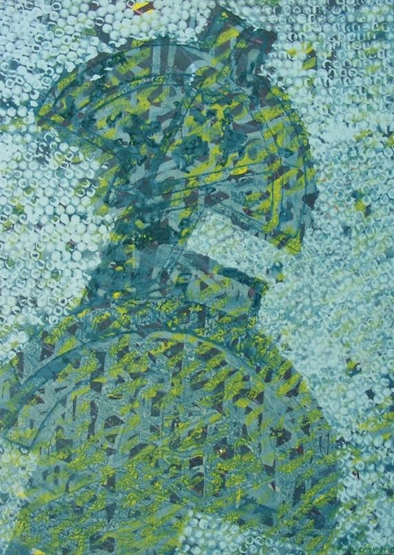 U Galeriji Alvona izložba Sedam slika za sedam desetljeća stvaranja autora Gualtiera Mocennija