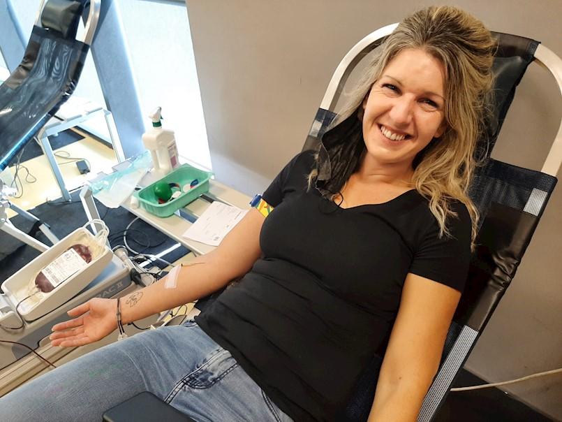 Na akciji dobrovoljnog darovanja krvi prikupljeno 35 doza krvi