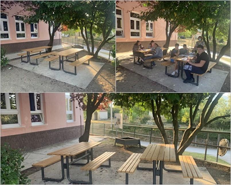 U Osnovnoj školi Ivana Gorana Kovačića u Čepiću realiziran projekt ''Ispod grane učim znanje''