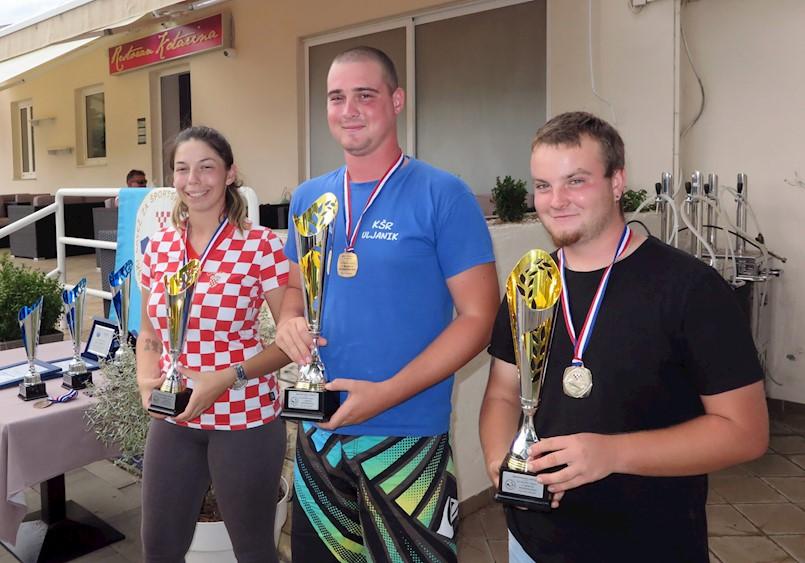 Antonio Smoković (SRD Galeb Raša) 2. na natjecanju U21 štap sa obale na Viru