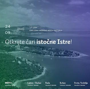 Turističke zajednice s Labinštine sudjeluju na 14. Weekend media festivalu u Rovinju