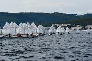 Održana Rabačka regata za klasu optimist za 2021.