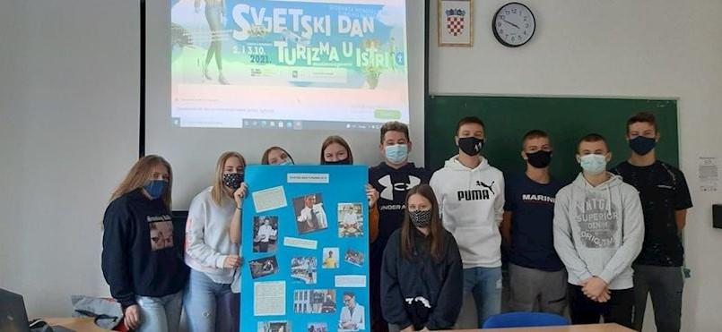Ekonomisti labinske srednje škole obilježili Svjetski dan turizma
