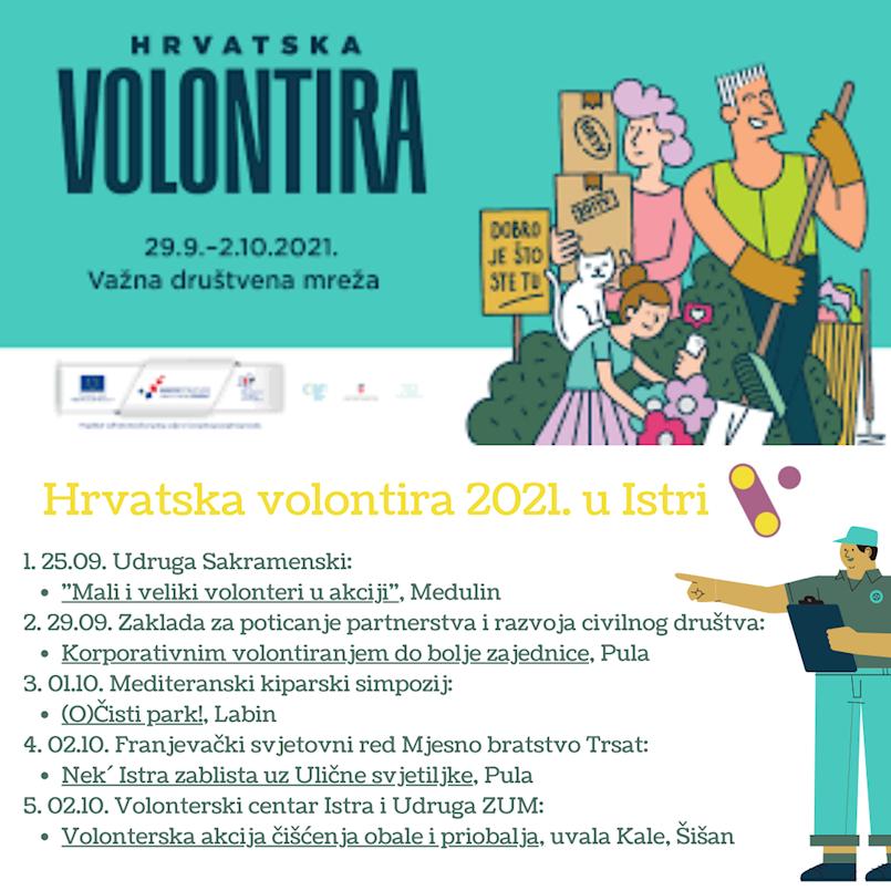 U sklopu akcije Hrvatska volontira 1. 10. 2021. godine akcija (O)Čisti park skulptura Dubrova