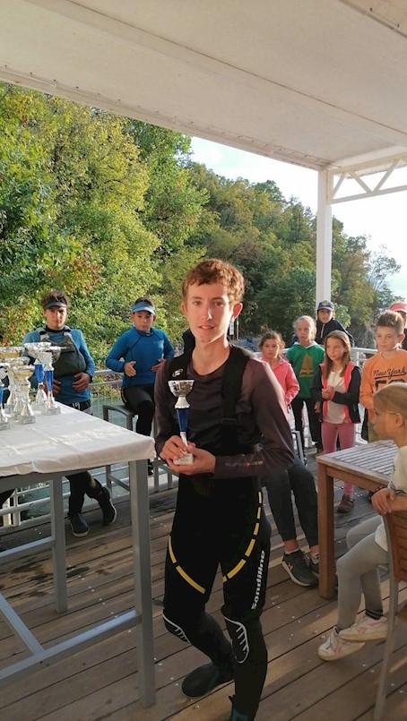 Diego Merlin (JK Kvarner) osvojio 3. mjesto na Kostrenskoj regati