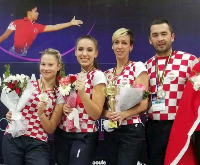 Labinske boćarice Nives Jelovica i Ria Vojković na Svjetskom prvenstvu