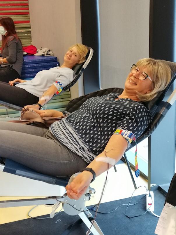 Na dobrovoljnoj akciji darovanja krvu u Labinu prikupljeno 69 doza krvi