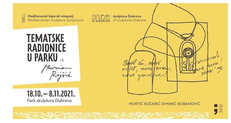 Tematske radionice u Parku skulptura Dubrova
