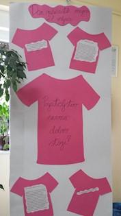 Dan ružičastih majica u OŠ Ivo Lola Ribar, 28.2.2019.