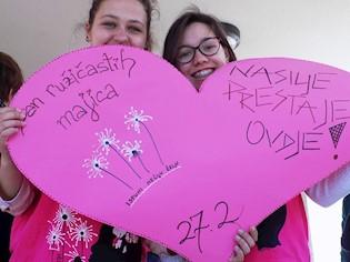 Dan ružičastih majica u SŠ Mate Blažine, 28.2.2019.