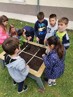 LAG ''Istočna Istra'' osigurao vrtne gredice za sve osnovne škole i vrtiće Labinštine