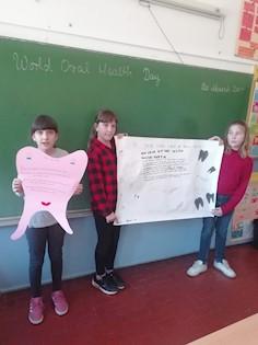 """OŠ """"Ivo Lola Ribar"""" Labin obilježila Svjetski dan oralnog zdravlja"""