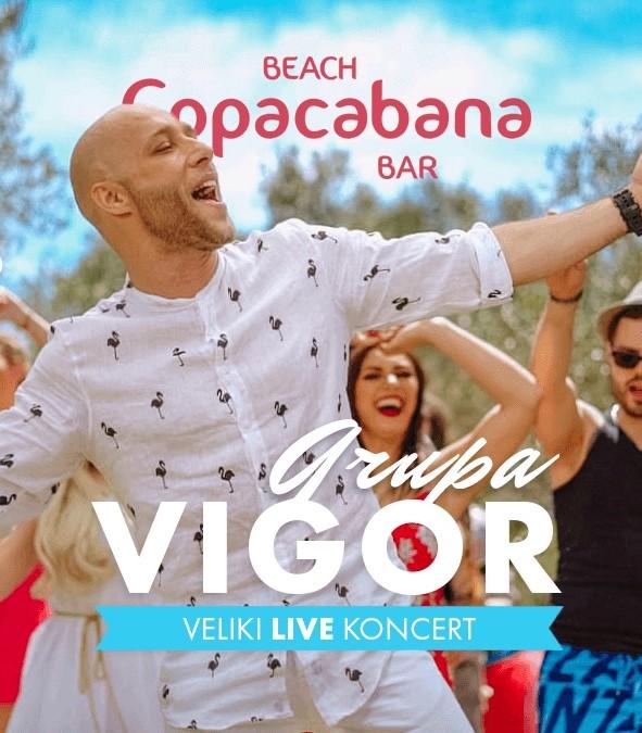 GRUPA VIGOR // Copacabana closing season