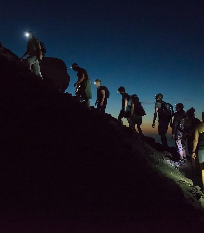 Pozdrav proljeću - noćni planinarski pohod na Skitaču