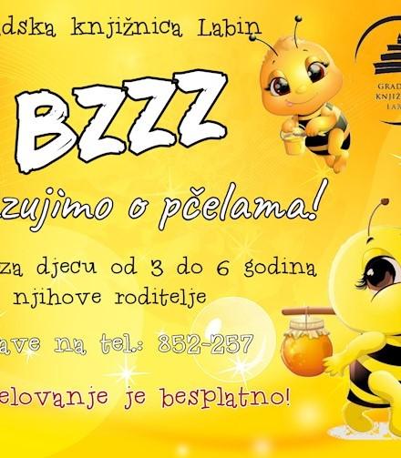 """Edukativno-kreativna radionica """"BZZZ... zazujimo o pčelama!"""""""