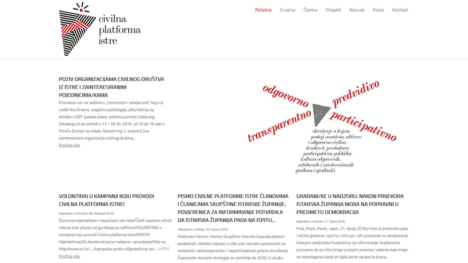 Civilna platforma Istre