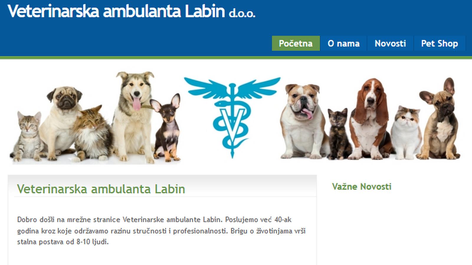 Veterinarska ambulanta Labin d.o.o.