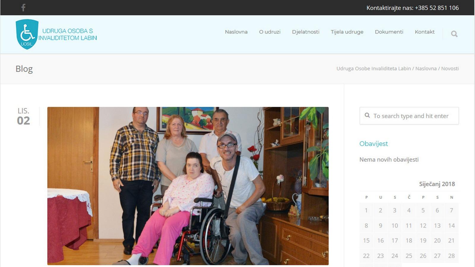 Udruga osoba s invaliditetom Labin