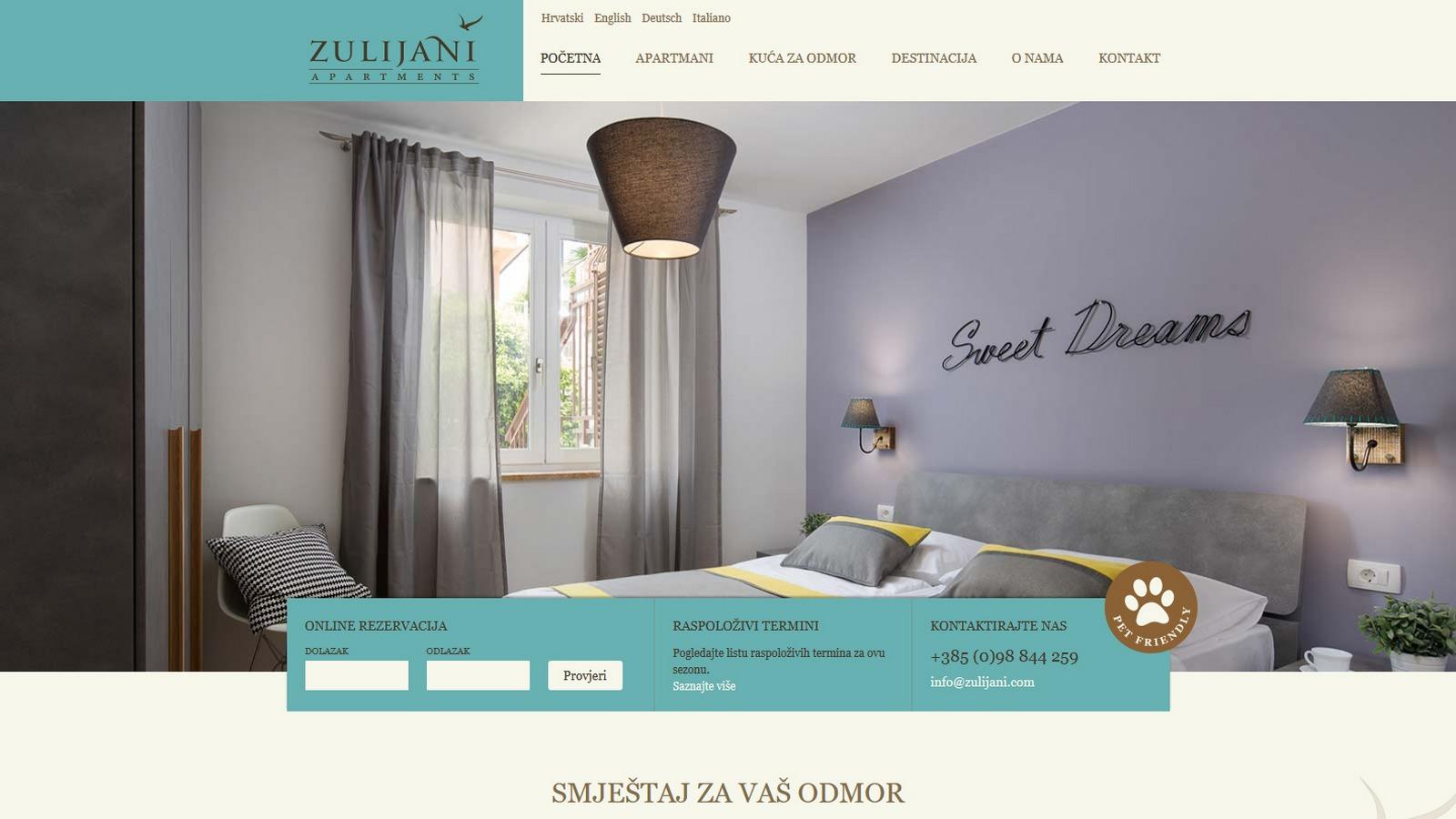 Zulijani apartmani