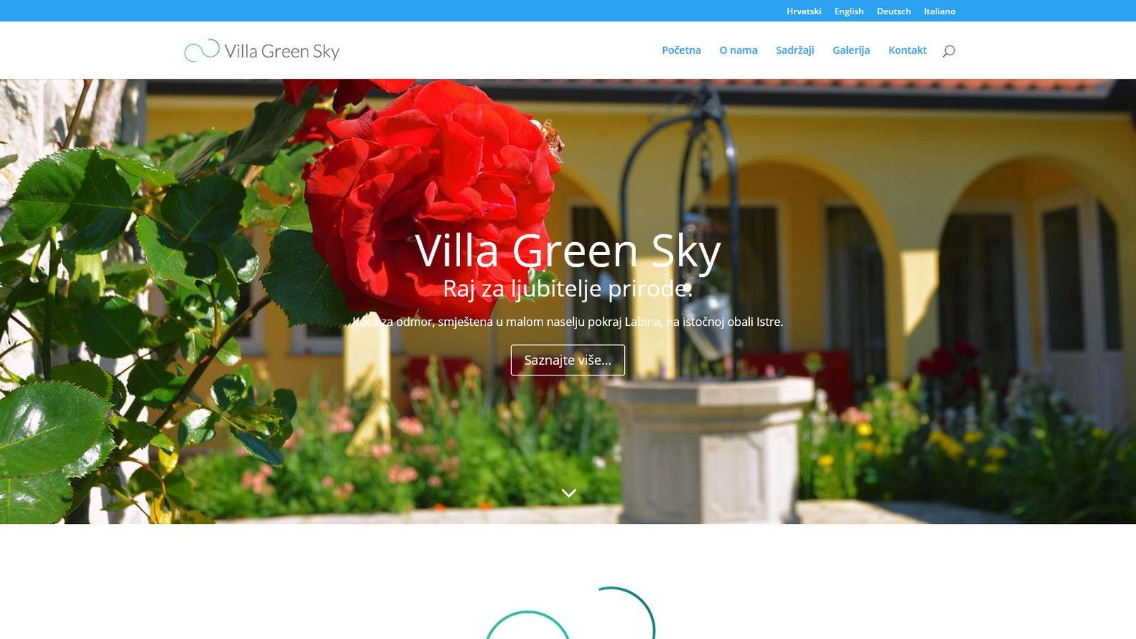 Villa Green Sky, Nedešćina
