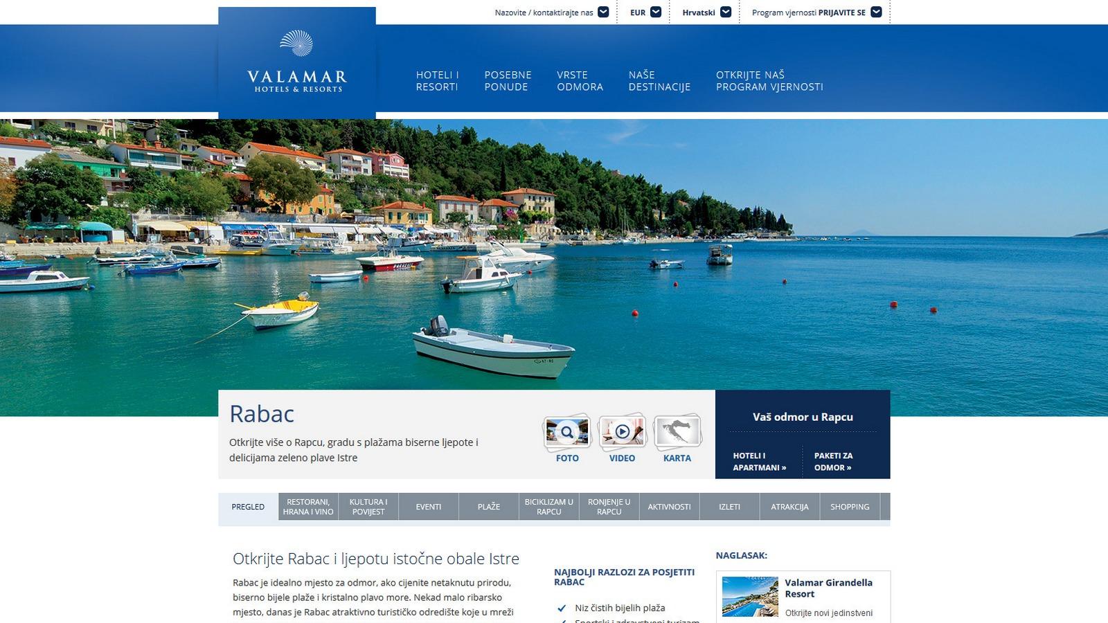 Valamar Hotels & Resorts - Rabac