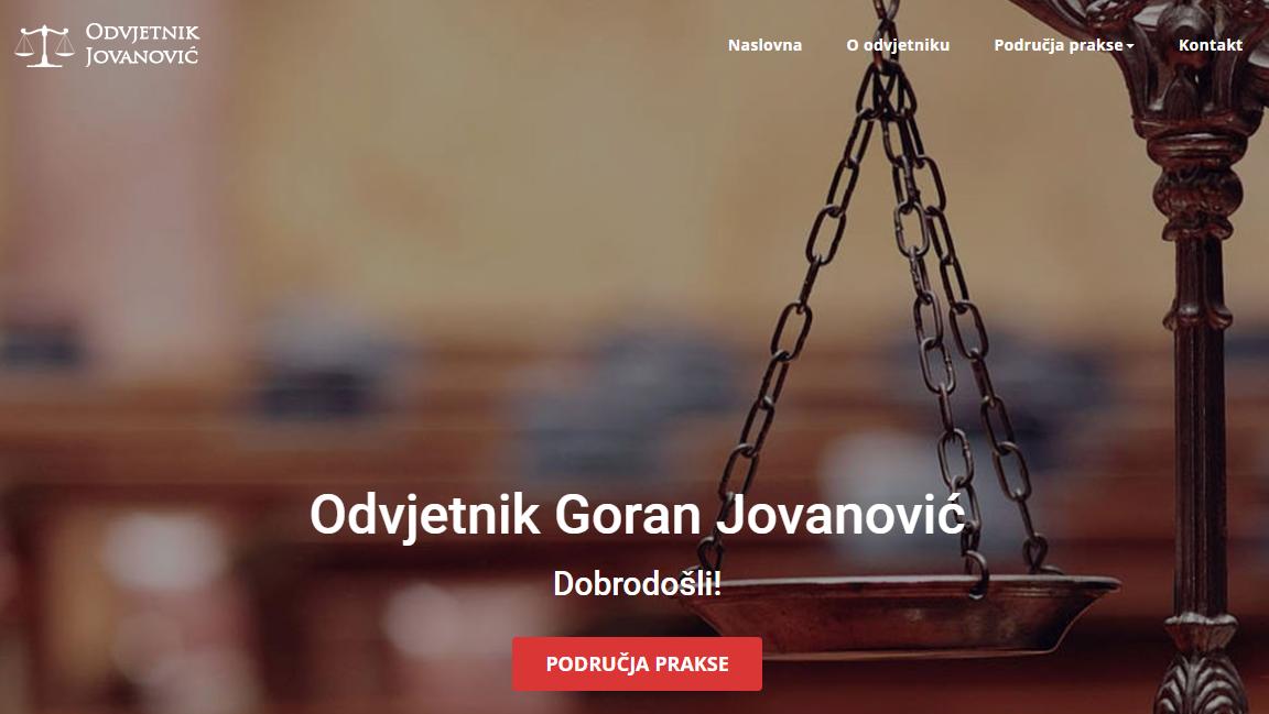 Odvjetnik Jovanović