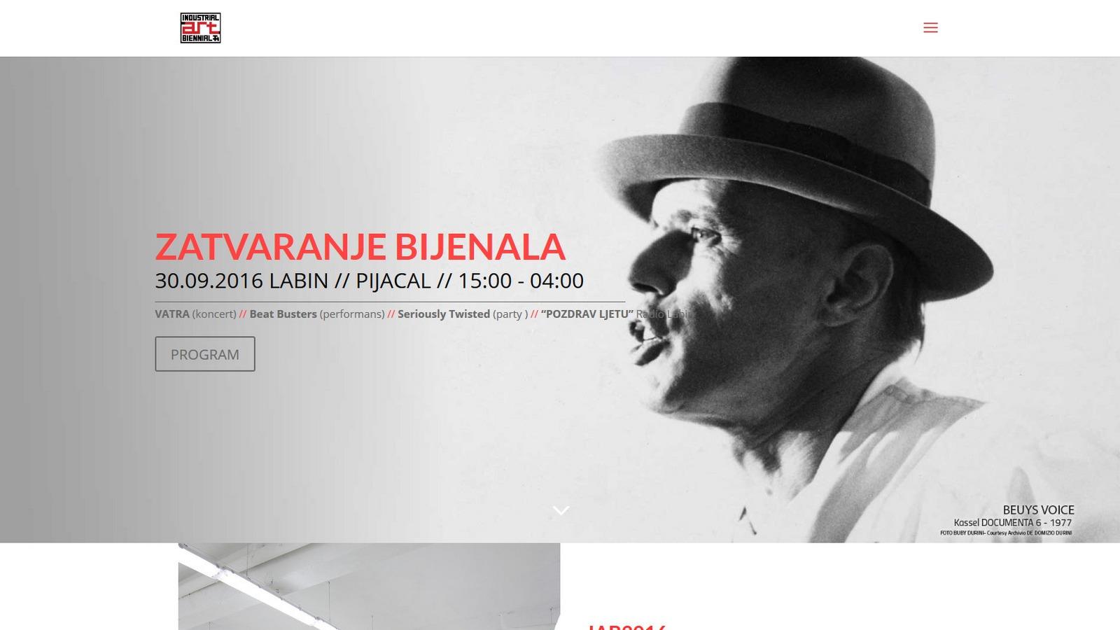 Industrial Art Biennale (IAB), Labin