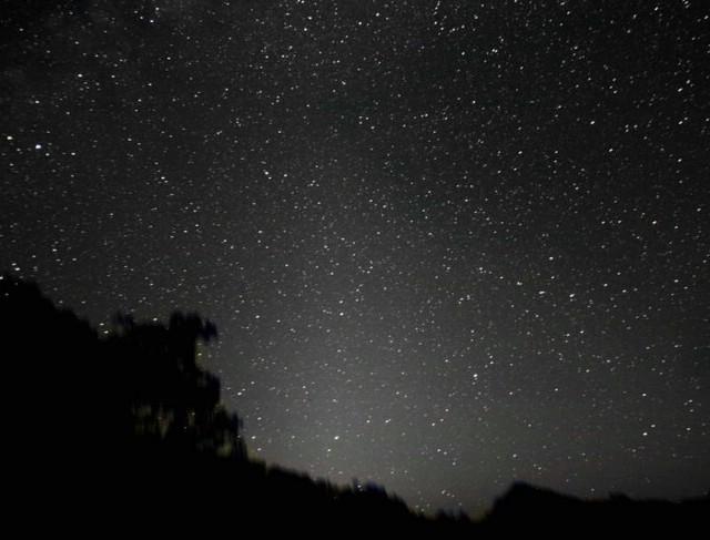 Zodijakalna svjetlost na nebu može se vidjeti i iz Istre