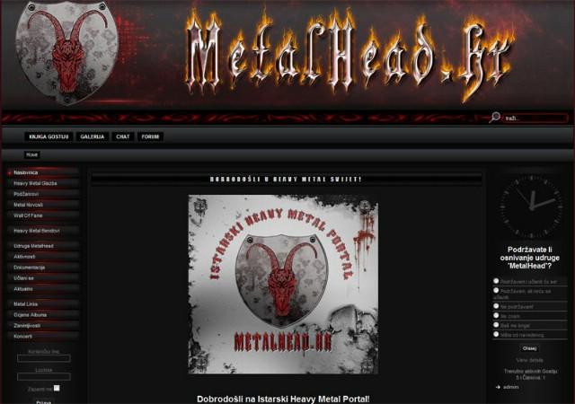 Pokrenut Istarski Heavy Metal Portal